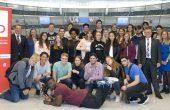 Jugendliche aus Gröpelingen im Europaparlament