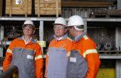 Besuch im Bremer Stahlwerk von ArcelorMittal