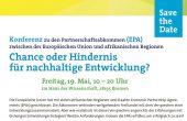 Meine Konferenz zum Freihandel mit Afrika im Haus der Wissenschaft