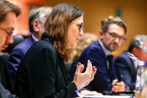 INTA committee meeting. - Presentation by Cecilia MALMSTROM, Commissioner for trade, on the outcome of the WTO Ministerial (Shanghai, 5 November 2019) and the situation of the Appellate Body